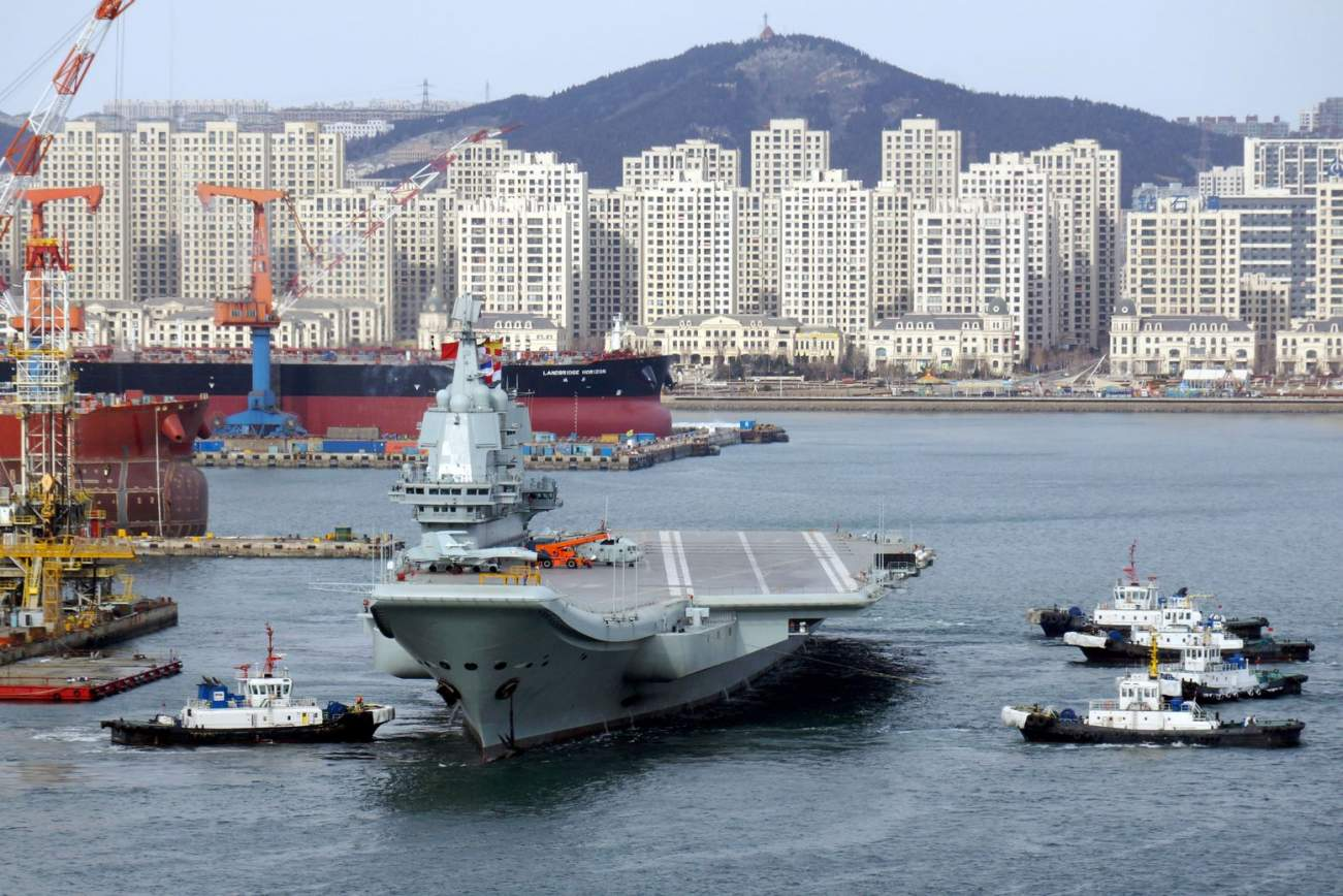 The Story of China's Aircraft Carrier Launch Is Flat Out Strange