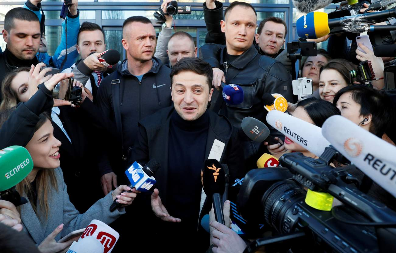 Zelensky to secure landslide win in Ukraine election runoff