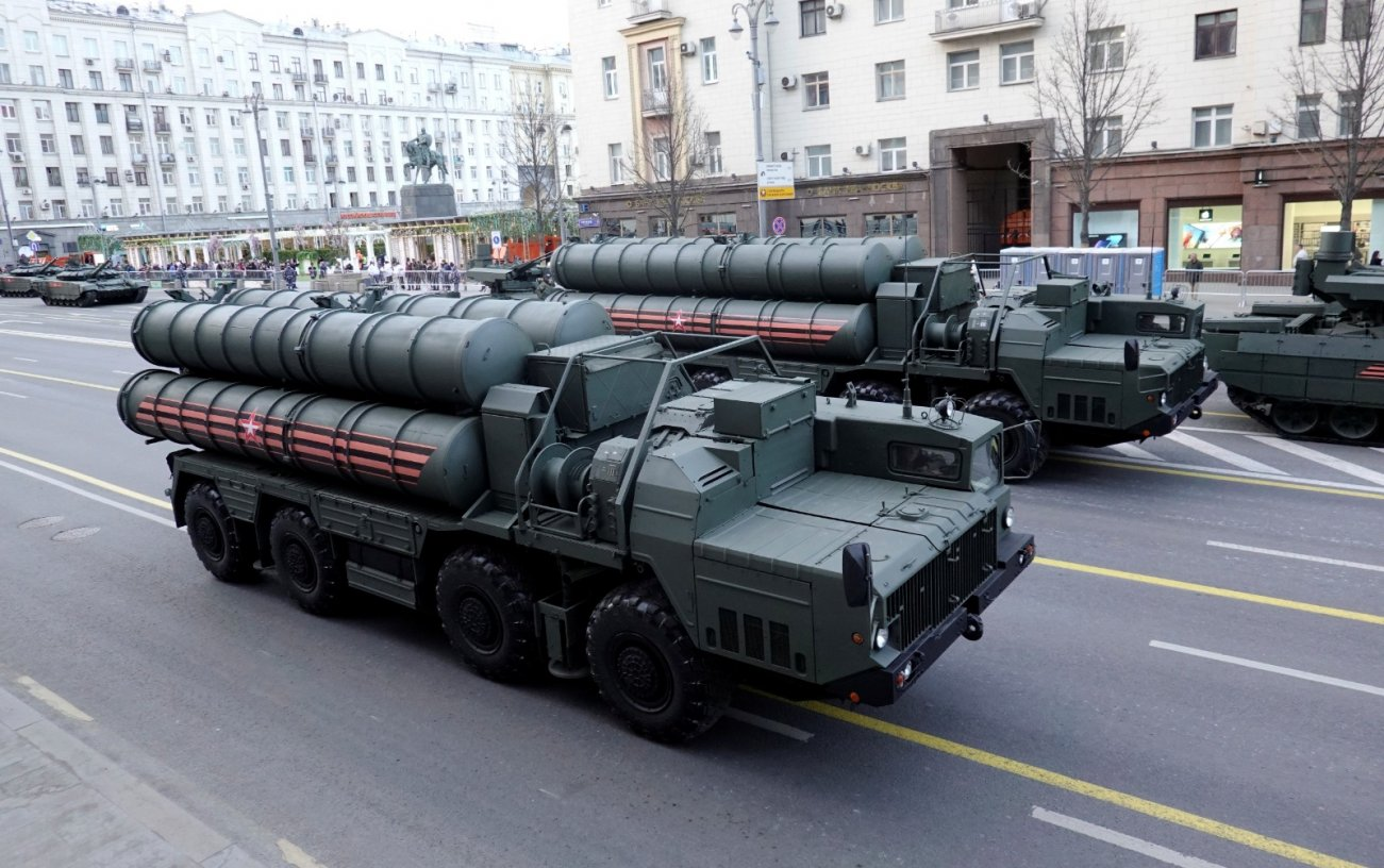 Look Out America, Russia Just Tested Its S-500 Air Defense System In Syria