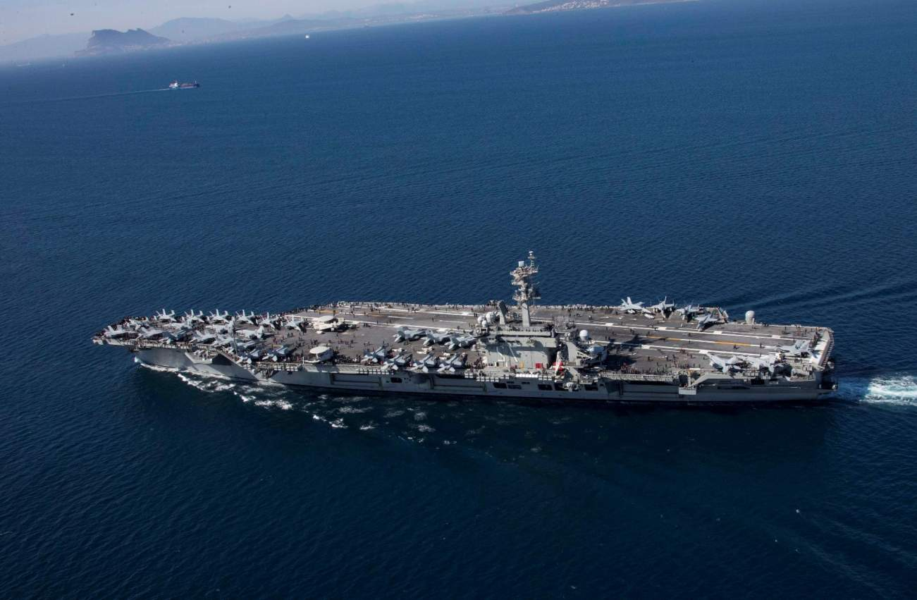 Revealed: Russia's Plan To Destroy U.S. Navy Aircraft Carriers In a War