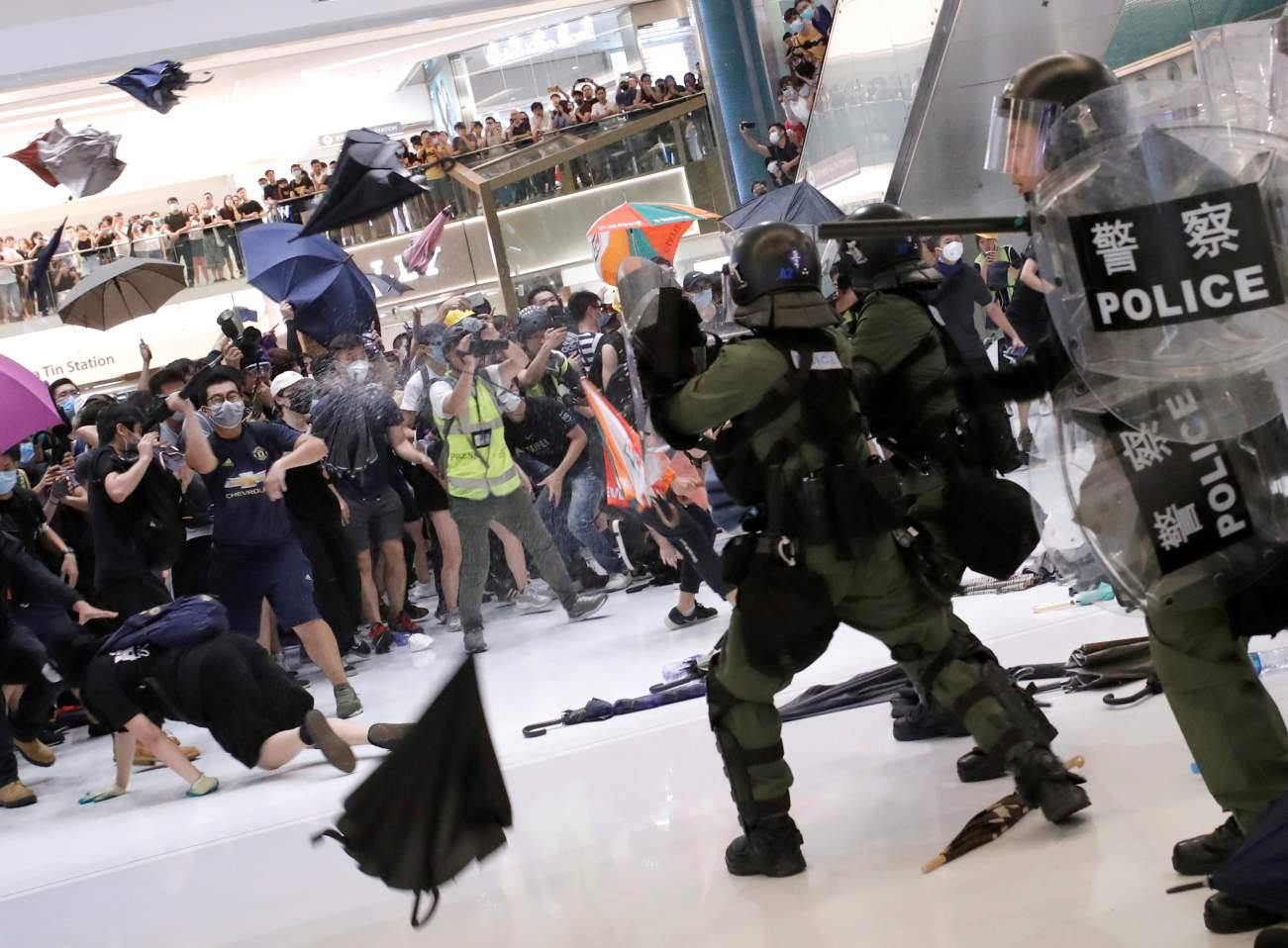 Hong Kong Enters China's Danger Zone Nationellt intresse    Hong Kong går in i Kinas farazon   title=     The National Interest