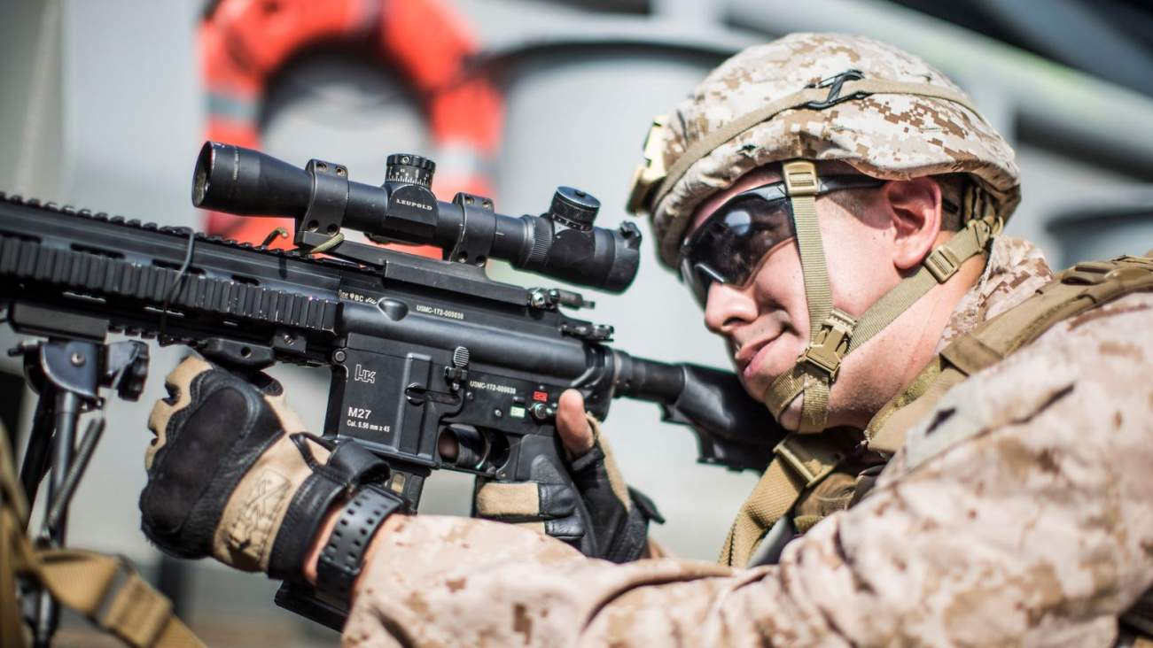 The U.S. Marines Adore the M27 Infantry Automatic Rifle