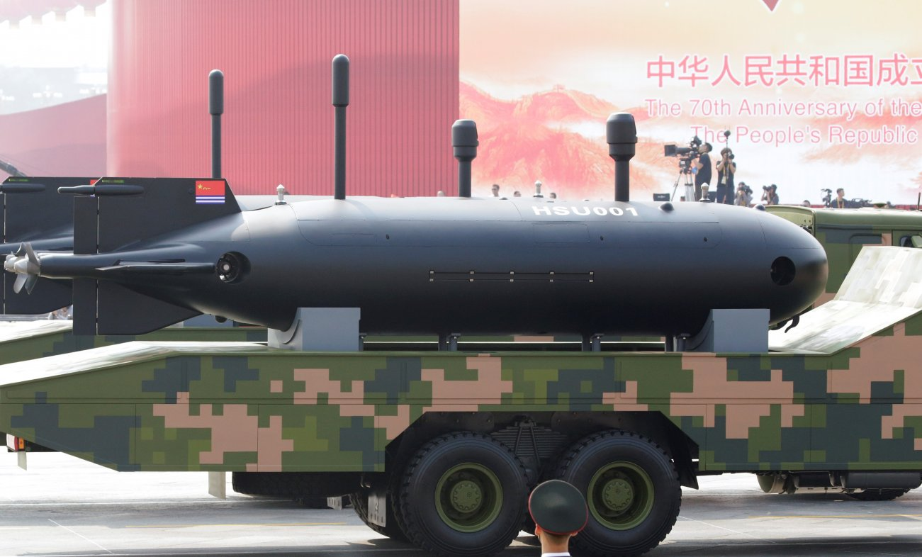 China's Robot Submarines Could Be the Ultimate Underwater Spy