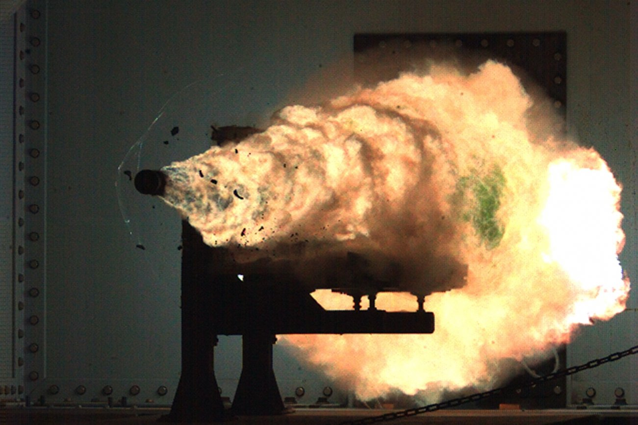 Not Science Fiction: The U.S. Navy Wants Railguns (That Can Kill Mountains)