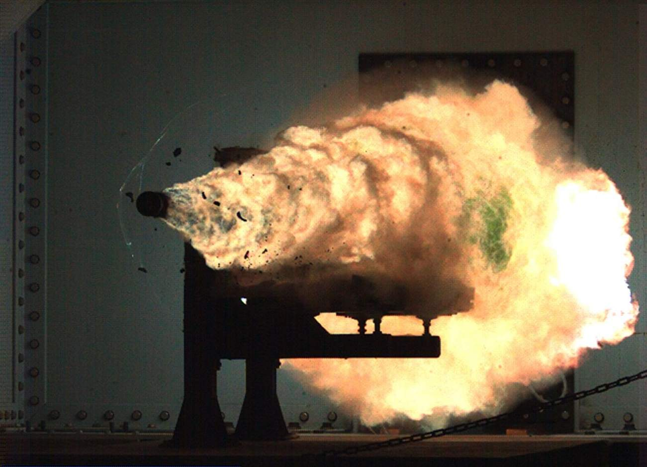 You Won't Believe How Powerful the Navy's New Railgun Is