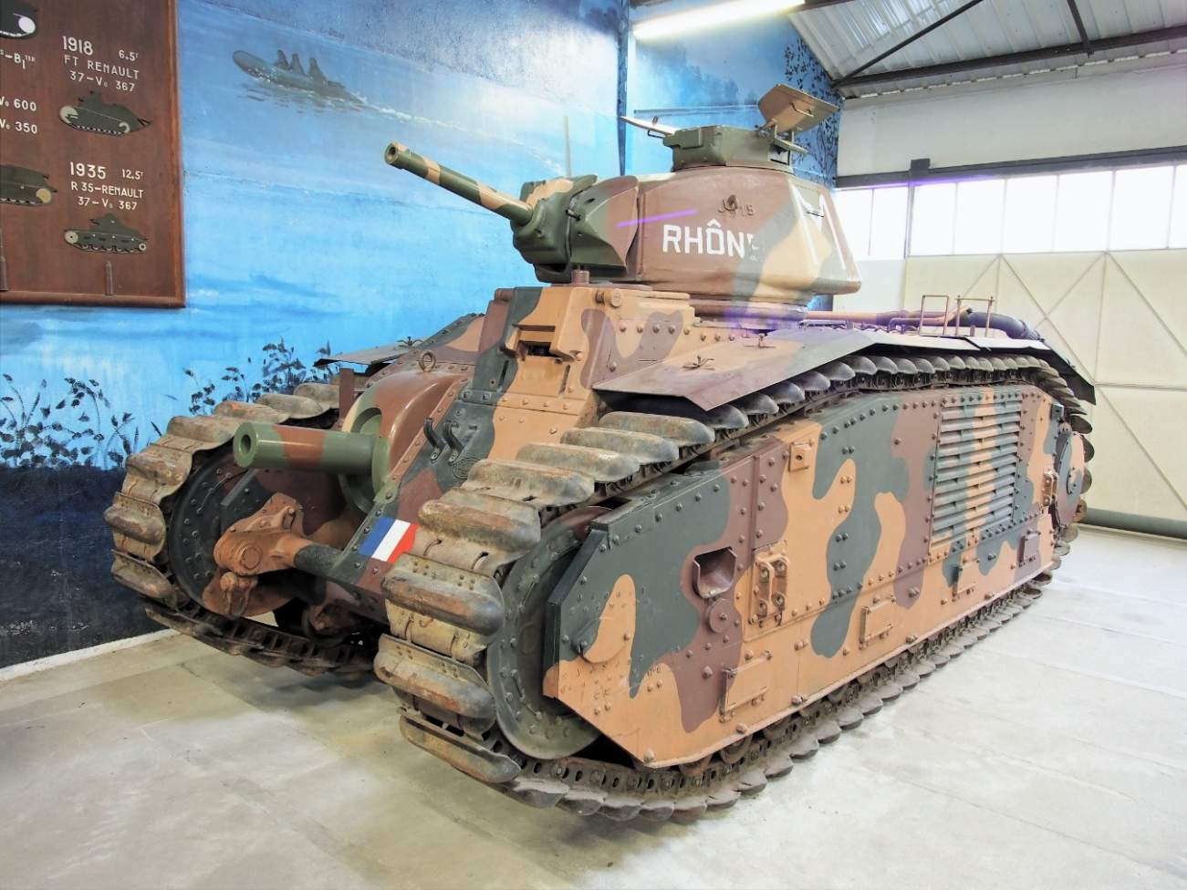 France Couldn't Beat Nazi Germany, But Its Char B1 Tanks Gave Hitler Fits