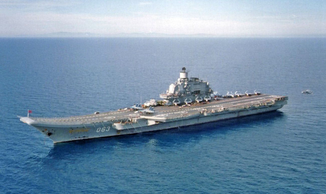 Where Are All of Russia's Aircraft Carriers?