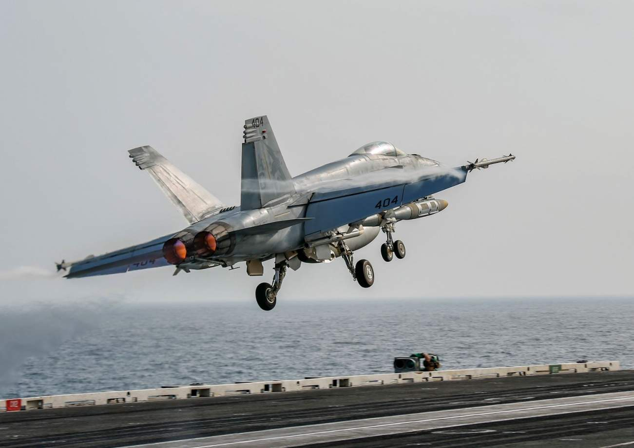 Iran Says It Could Sink a U.S. Navy Aircraft Carrier