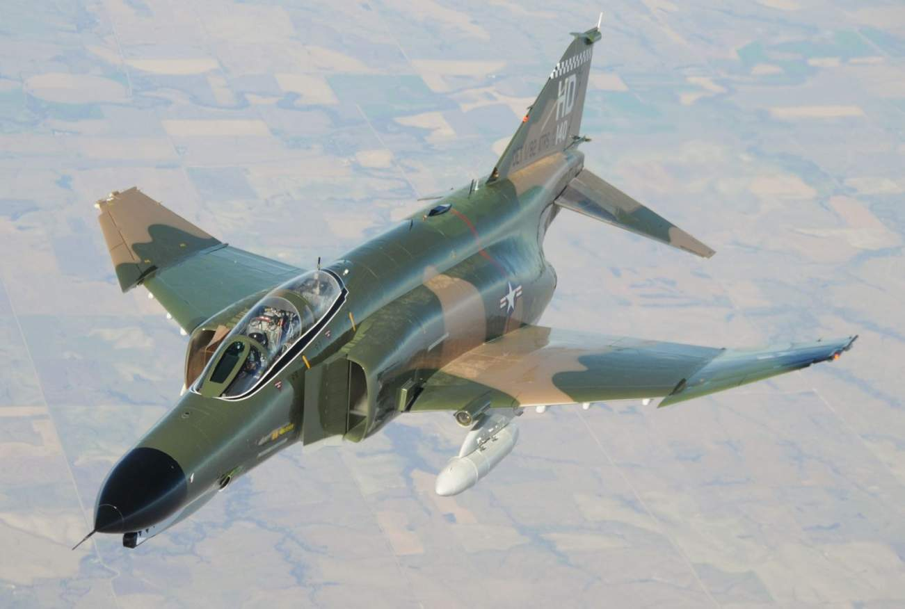 Meet the F-4 Phantom: This 60-Year-Old Fighter Jet Won't Stop for Anyone
