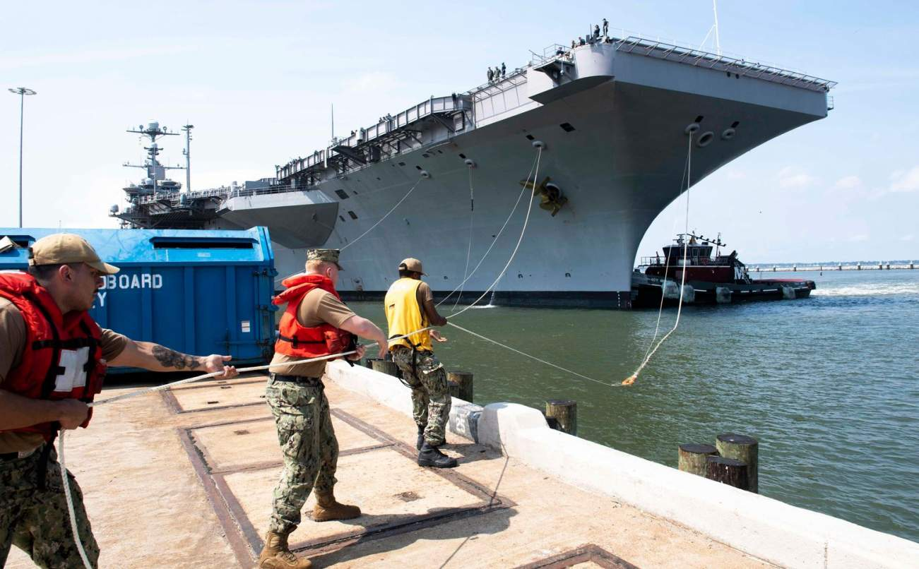Climate Change Could Put the Navy's Norfolk Base Underwater