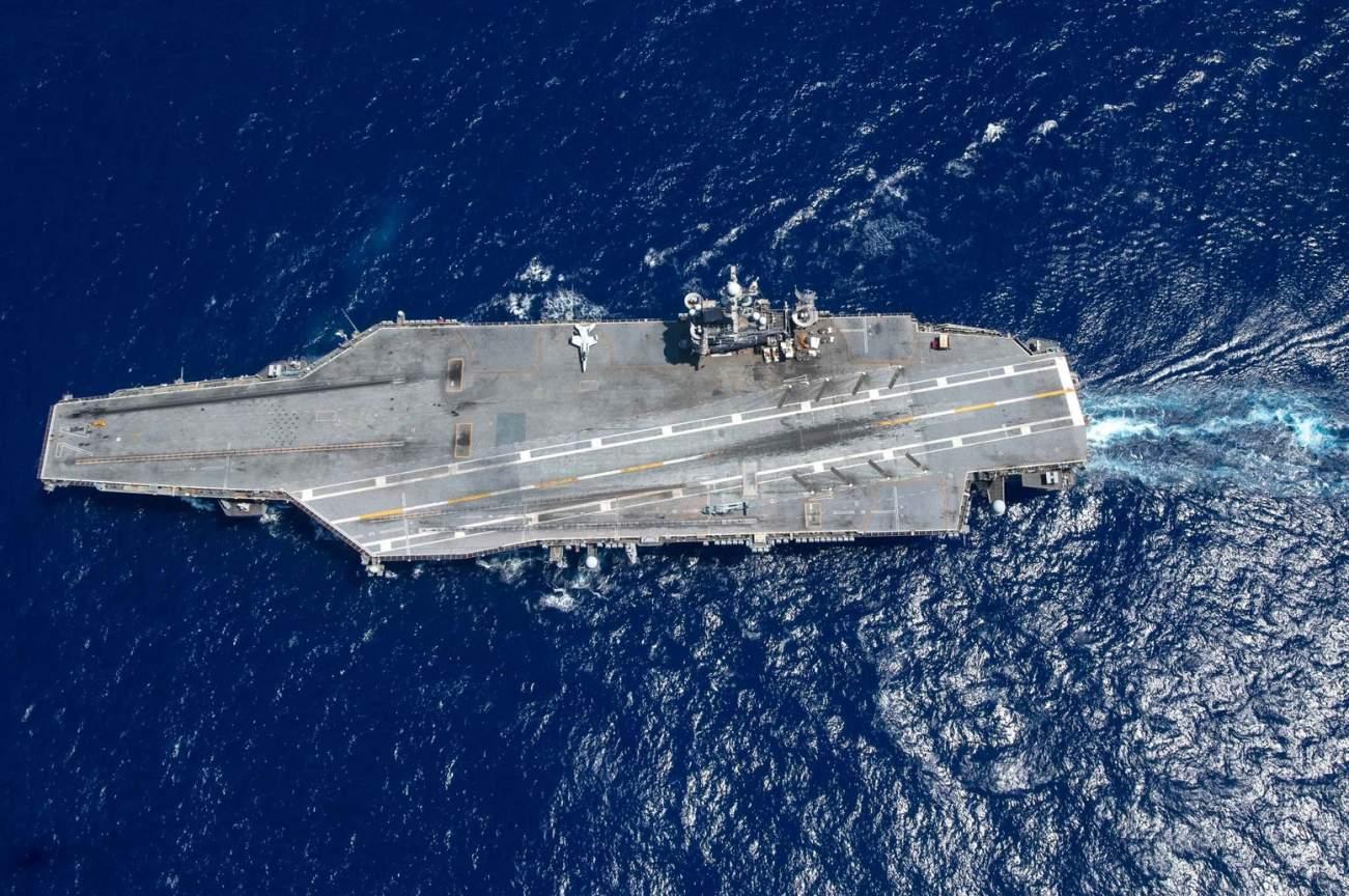 If a Navy Aircraft Carrier Was Ever Sunk, World War III Begins