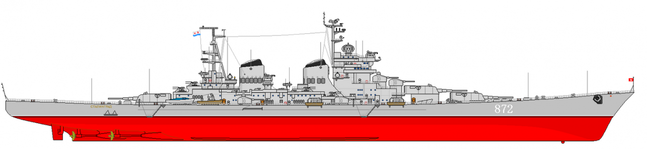 Why the Large and Deadly Stalingrad Class Battlecruiser Was Never Built