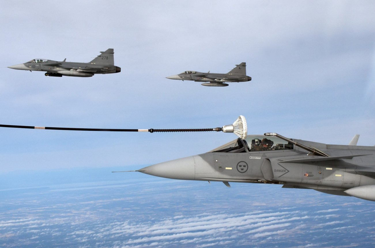Sweden's JAS-39F Gripen Is No F-35 (But Perfect for One Country)