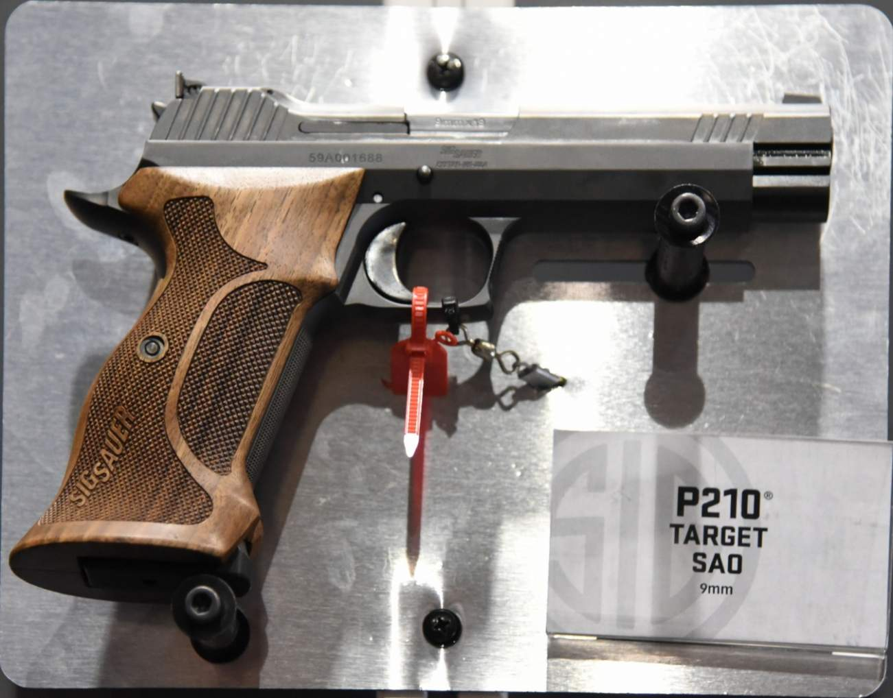 In Terms Of Accuracy, Sig Sauer's P210 Service Pistol Is King