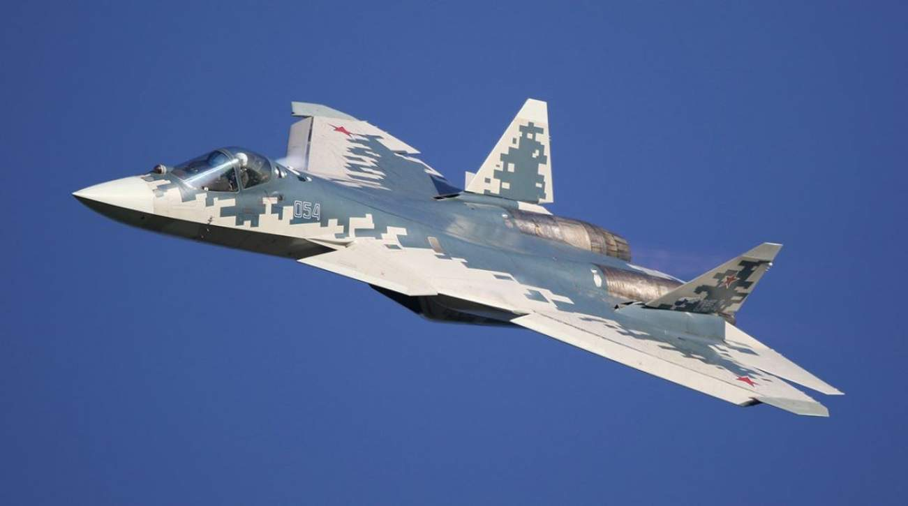 Seeing Half Of Russia's Su-57 Stealth Fighters Suddenly Go Airborne Was A Wakeup Call For Europe