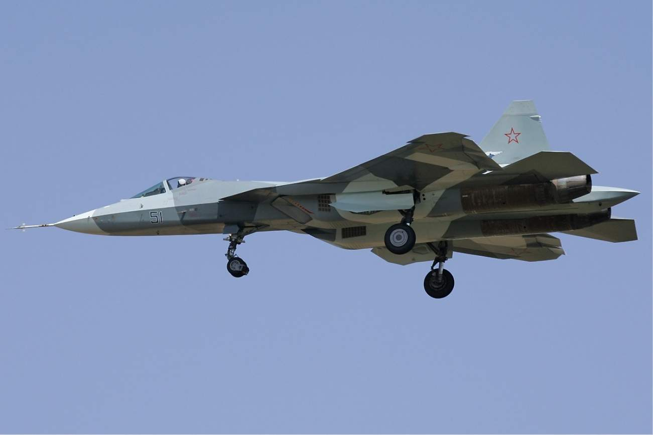 Russia's Stealth Su-57 Is Powerful, But Has One Major Flaw