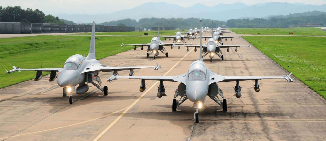 These Crazy Deadly South Korean FA-50s Are Now Protecting Argentina's Air Space