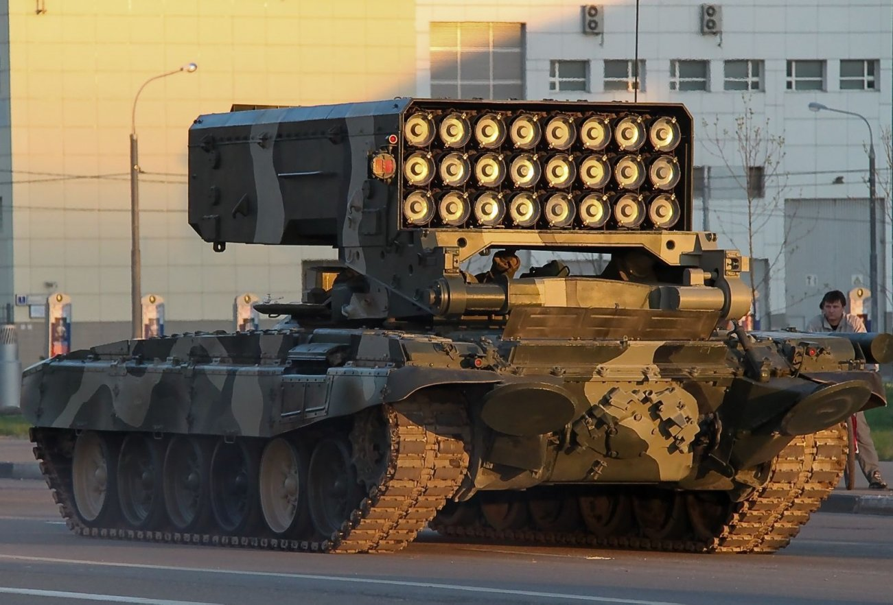 See This Massive 'Rocket' Launcher? Its Russia Way of Destroying a City