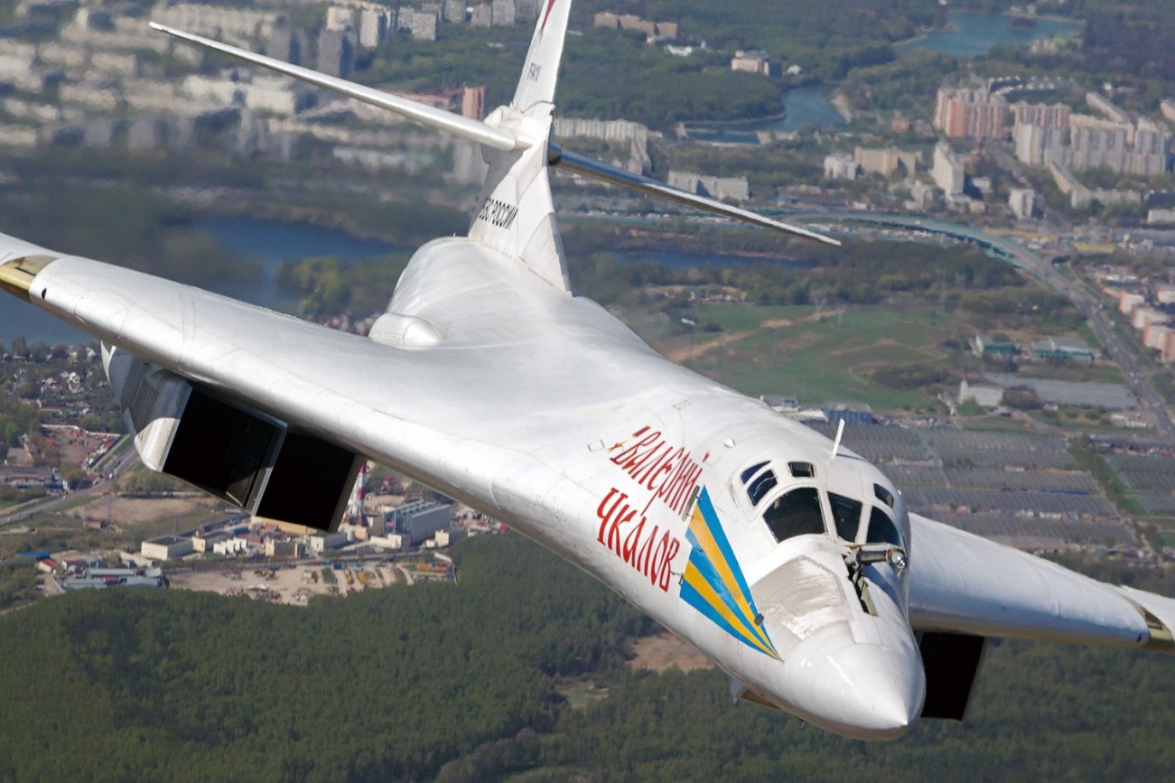 VIDEO: Watch This Reporter Almost Get Run Over By A Russian Tu-160 Bomber
