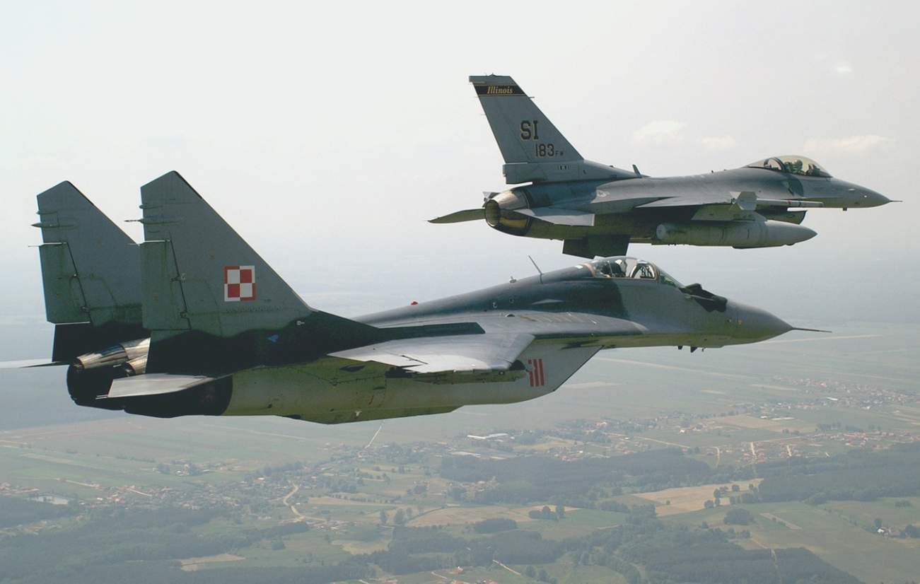 Thanks To Poland, U.S. Air Force Pilots Got An Inside Look Russia's MiG-29s