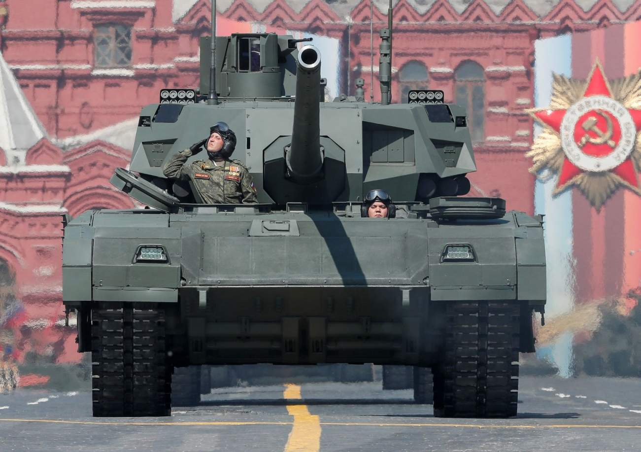 Guess Who Might Want to Purchase Russia's Powerful Armata Tank?