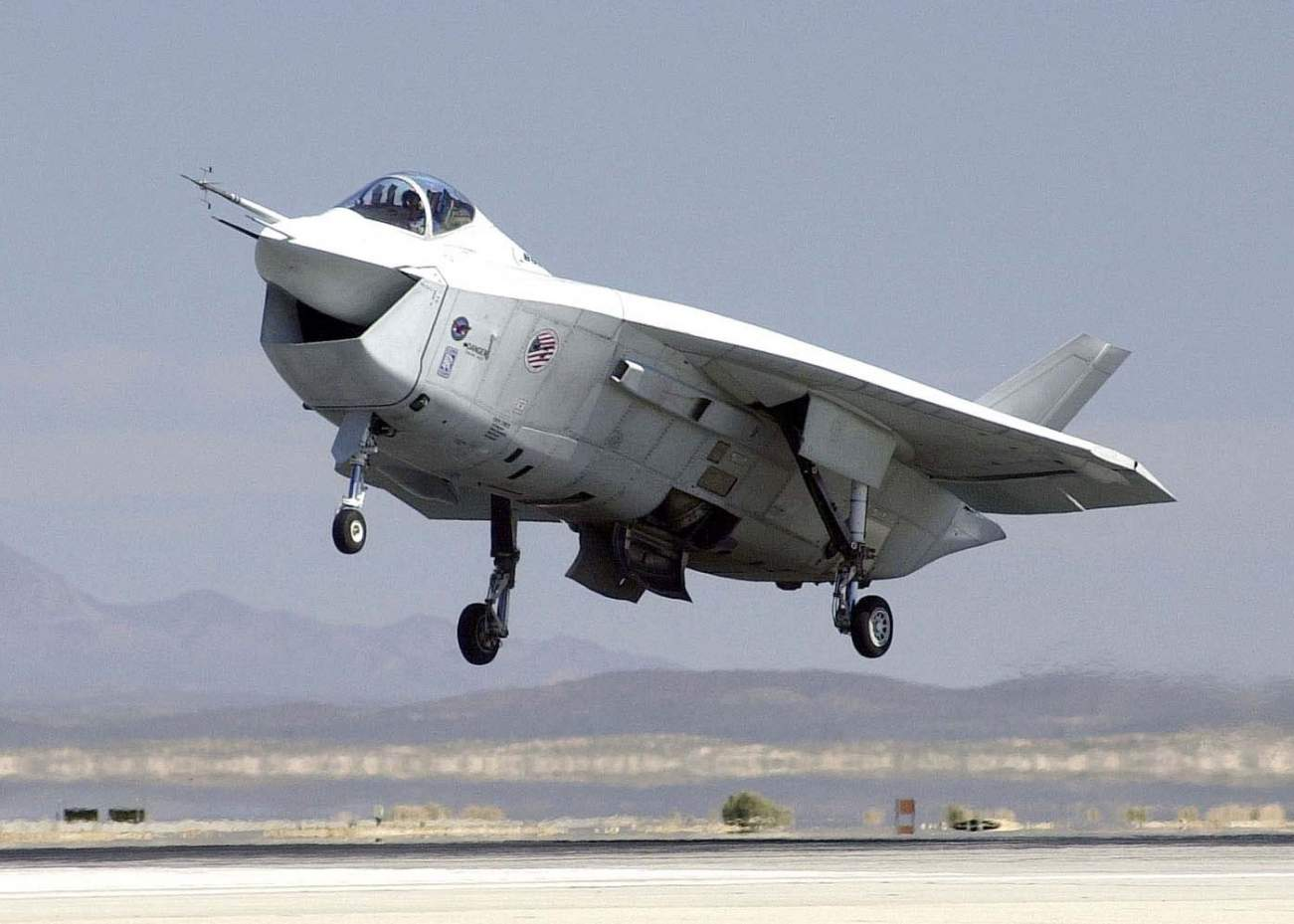 See This Picture? The F-35 Could Have Looked Like This
