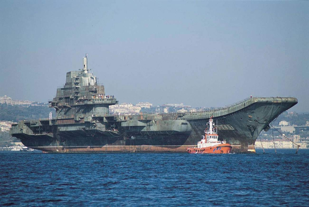 The Wacky Story of How China's Navy Got Aircraft Carriers