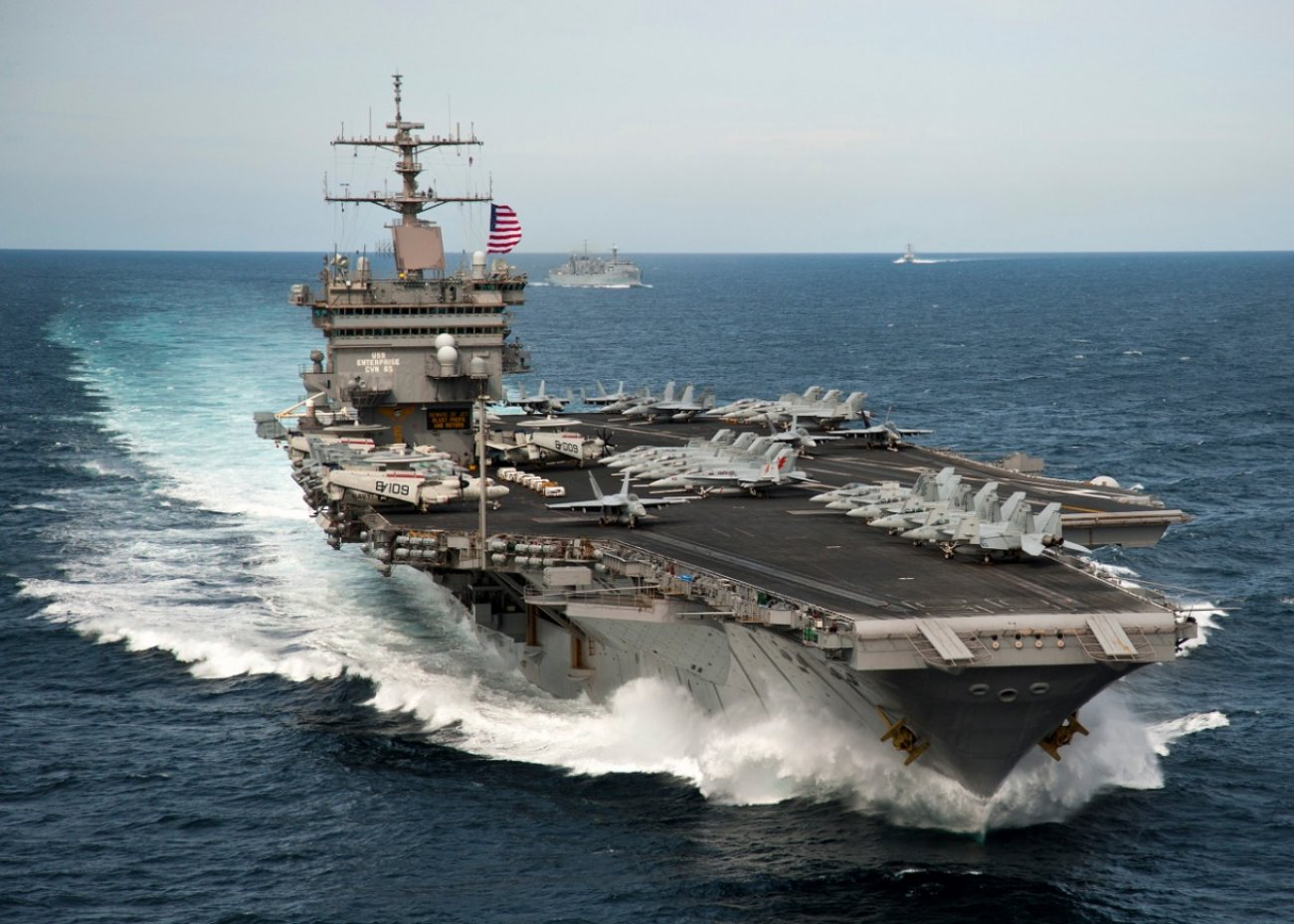 How to Sink a U.S. Navy Aircraft Carrier? This One Rocket Nearly Did the Trick