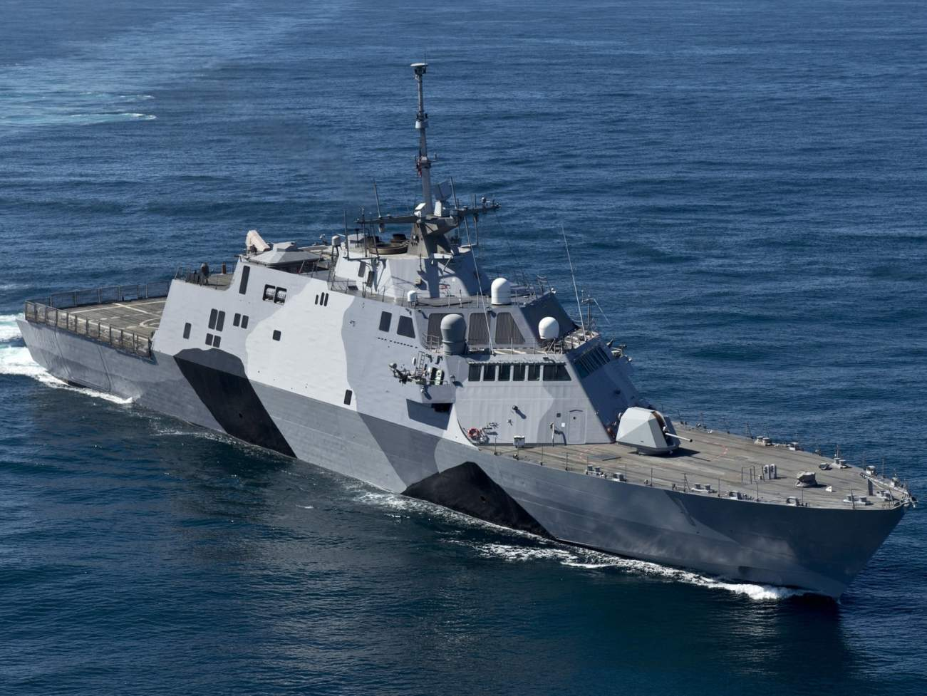 Don't Count Me Out: The Navy's Littoral Combat Ship Now Has The Naval Strike Missile