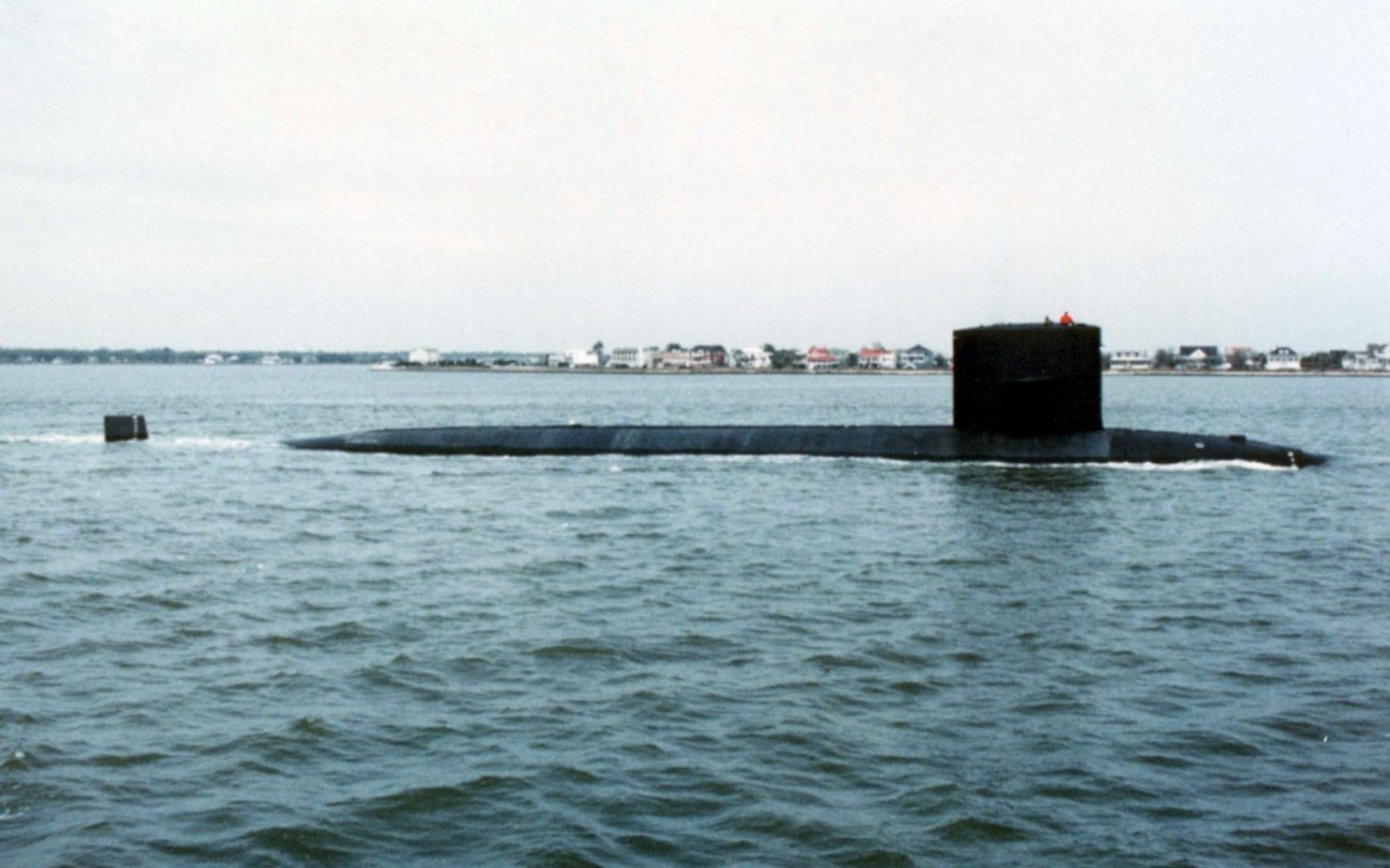 In 1993, a Russian Missile Sub Smashed Into This American Submarine