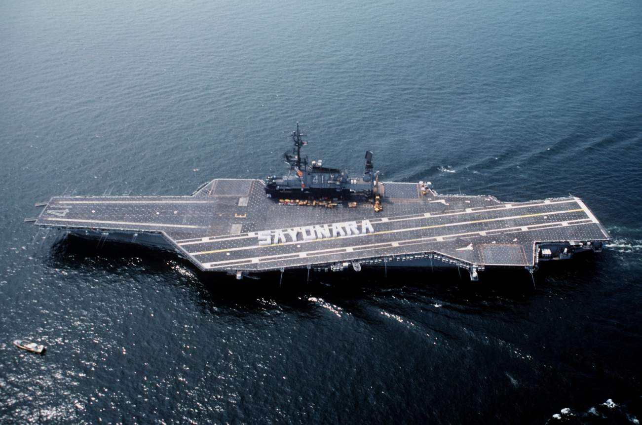 The Ford-Class Is Coming, But The Navy Still Has A Soft Spot For Its Midway-Class Aircraft Carriers