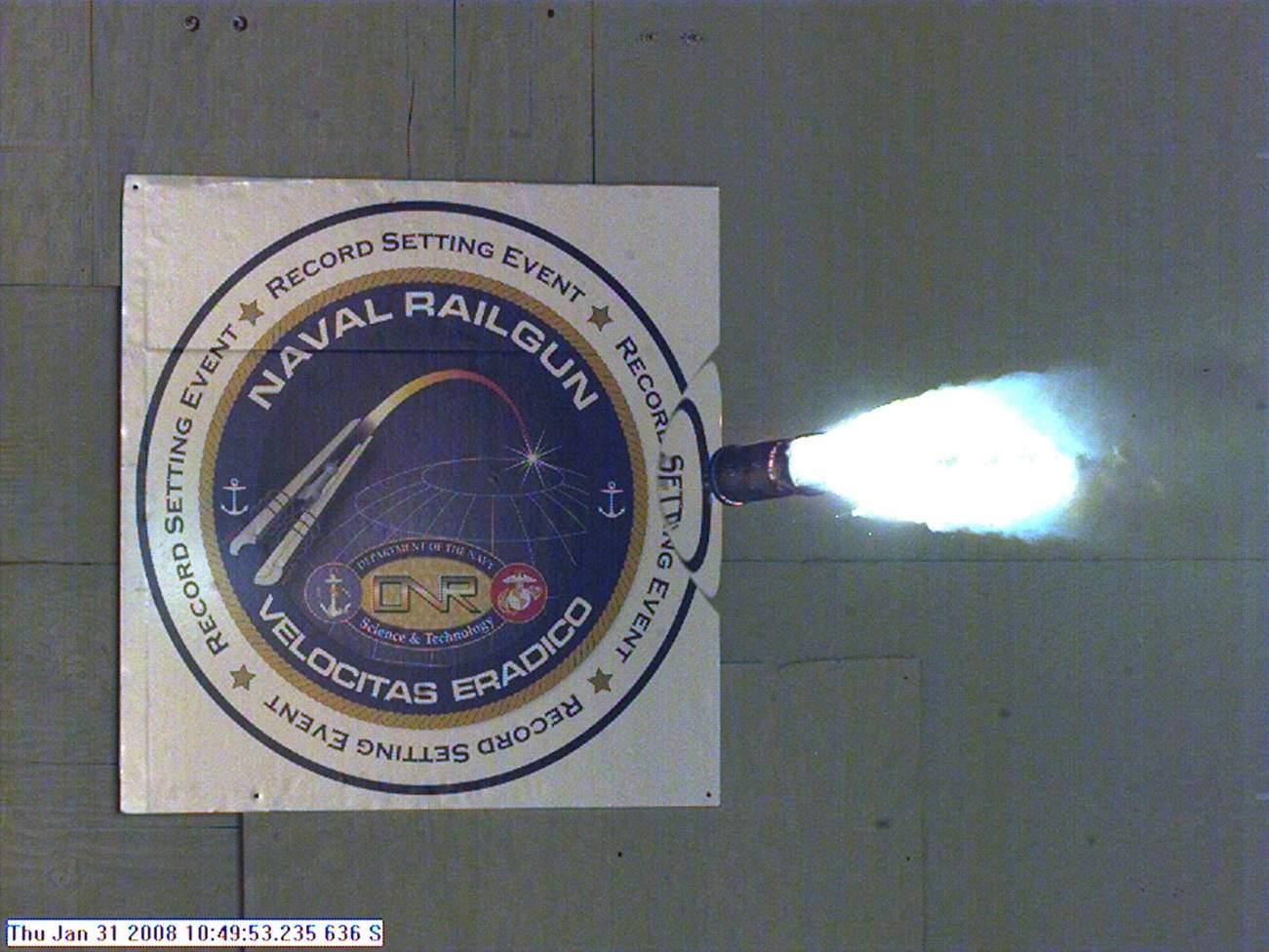 Not Even a Mountain Can Stop the U.S. Navy's New Experimental Railgun