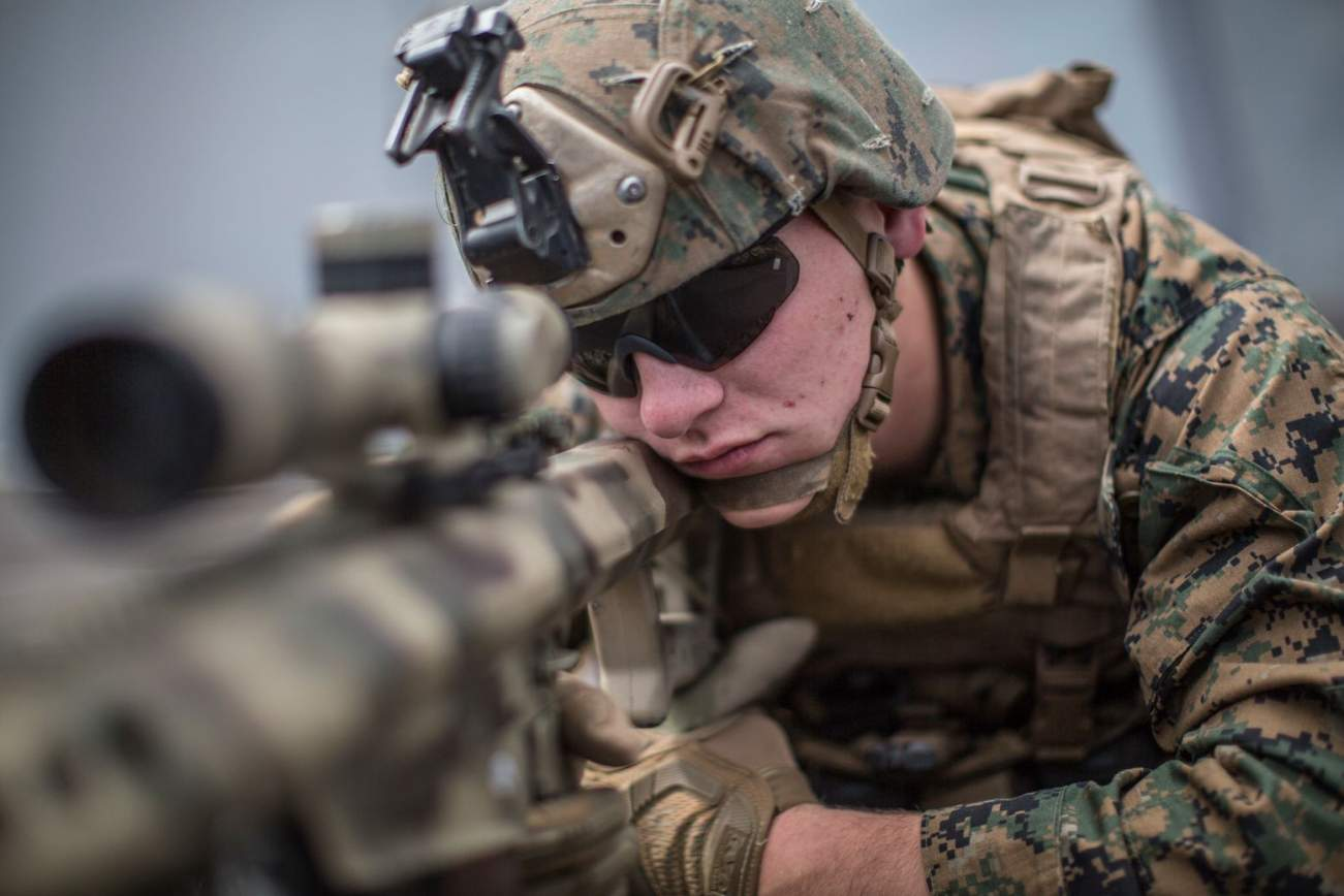 U.S. Marines Called Customer Support to Get Their Rifle Working During a Battle