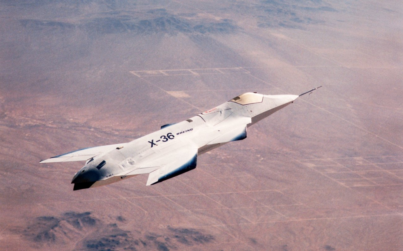 The X-36 Stealth Fighter Was One Beautiful Plane. So What Happened?