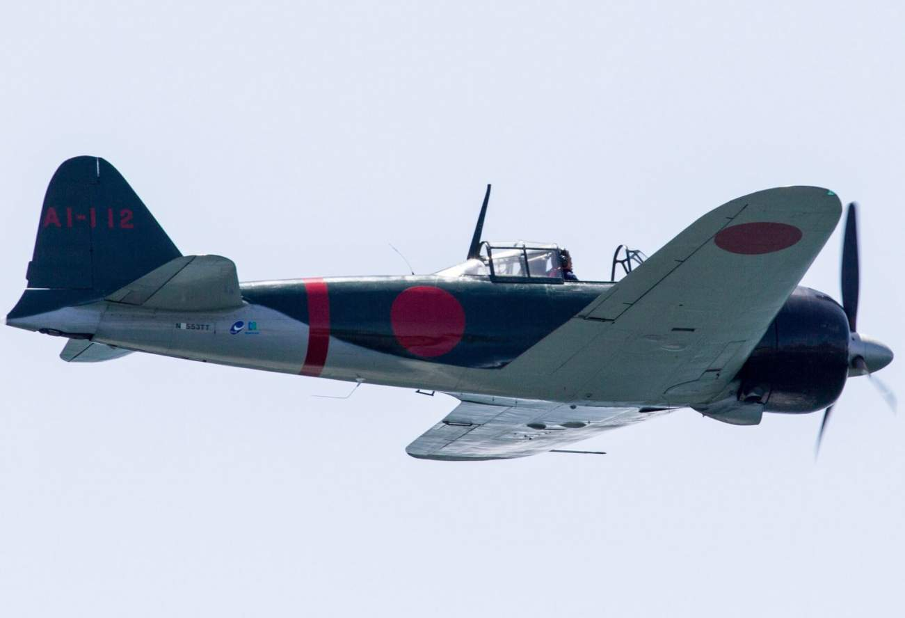 Imperial Japan's Zero Fighter Was Once Thought to Be Nearly Unbeatable
