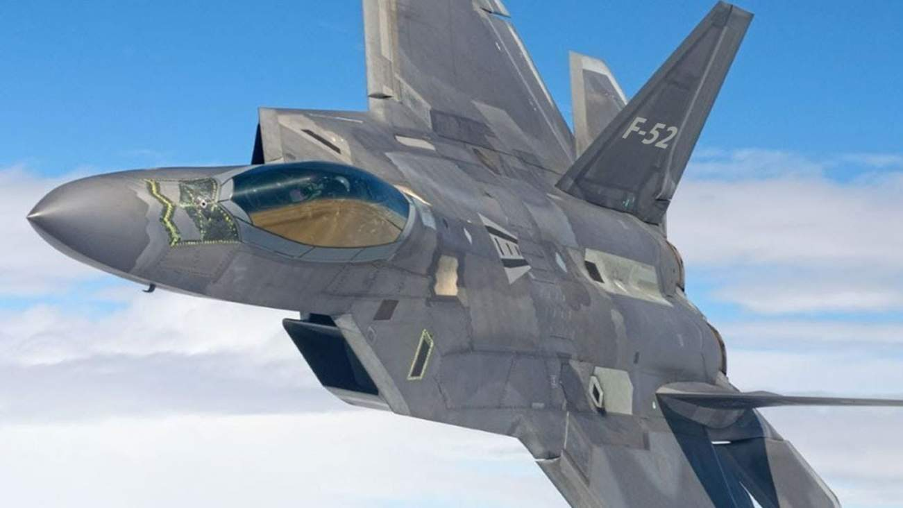 Meet the Mythical F-52 Stealth Fighter