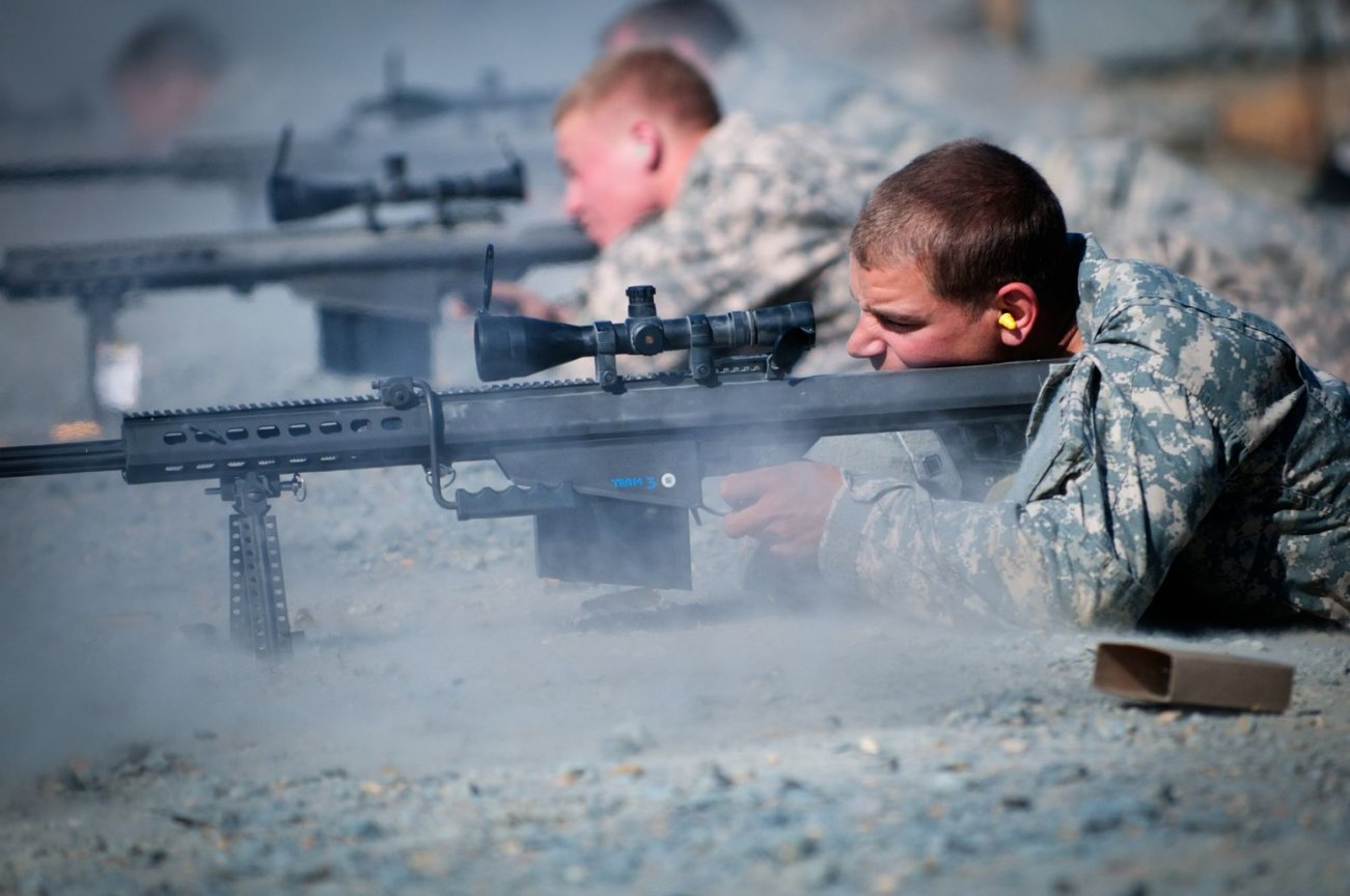How the M82 Sniper Rifle Can Kill You from 2,000 Yards Away