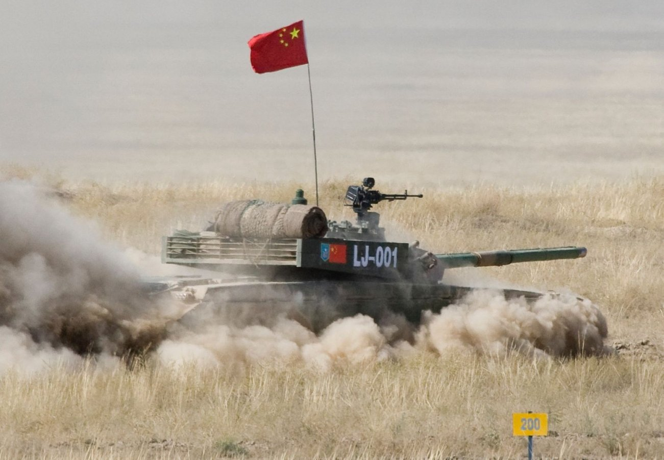 China's Type 99 Tank Is Serious Business