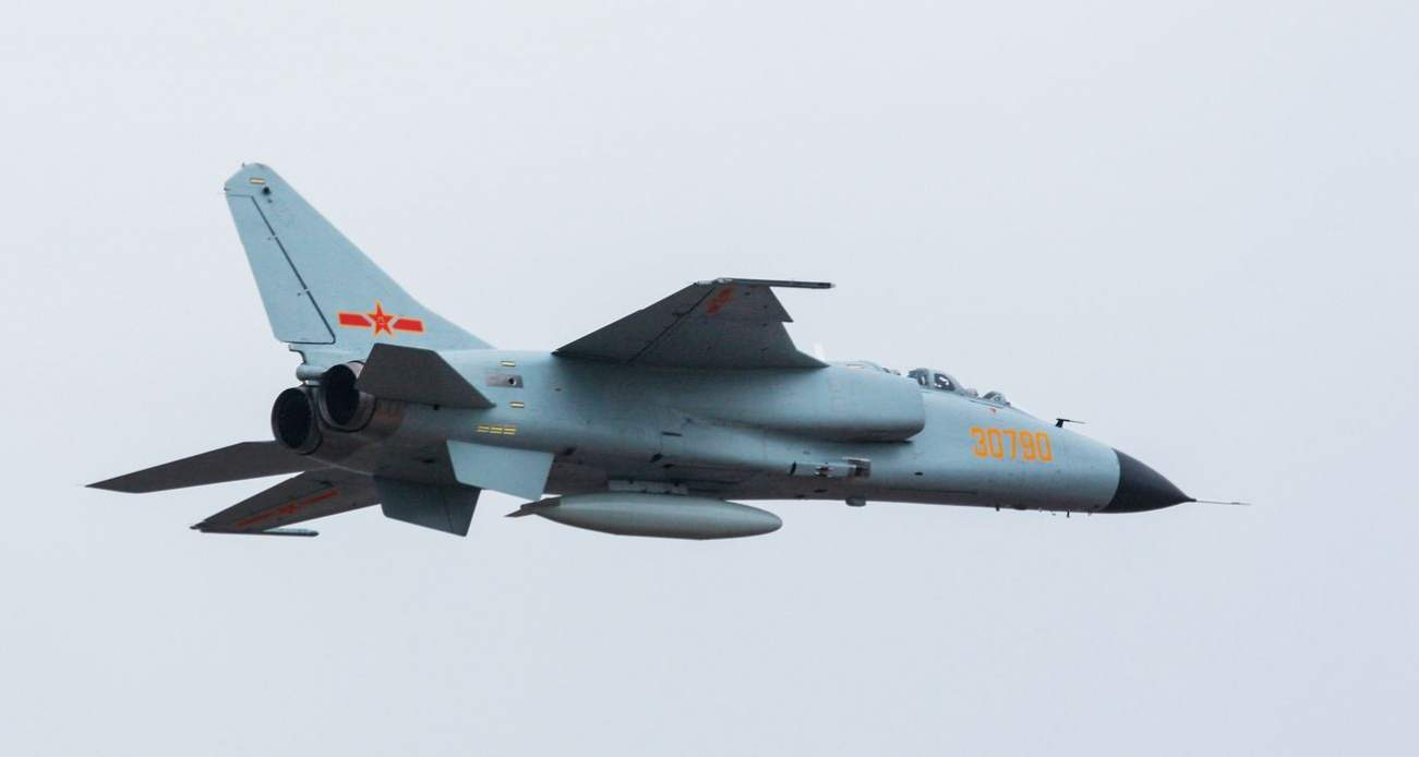Meet China's New JH-7A 'Flying Leopard' Supersonic Fighter Bomber