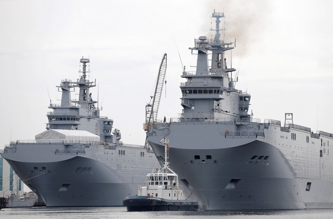 Back in 2014, France Almost Sold Two Advanced Helicopter Carriers to Russia