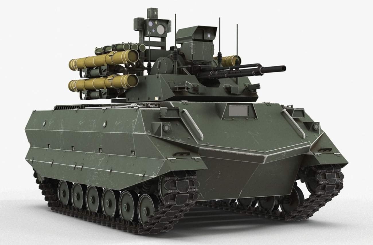 This Is the Robot Tank Russia Used in Syria