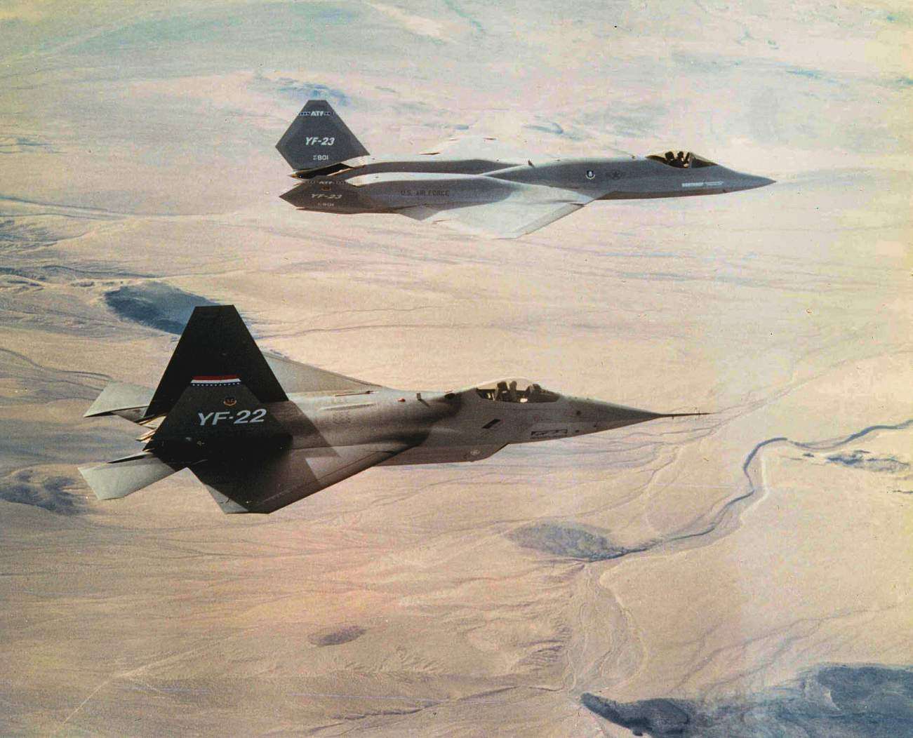 Forget The F-35 and F-22: These Two Fighter Jets Almost Replaced Them