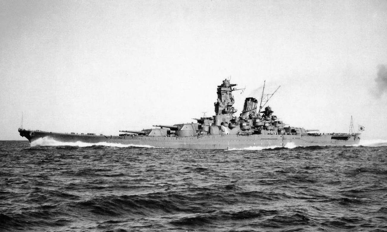 https://en.wikipedia.org/wiki/Japanese_battleship_Yamato#/media/File:Yamato_during_Trial_Service.jpg