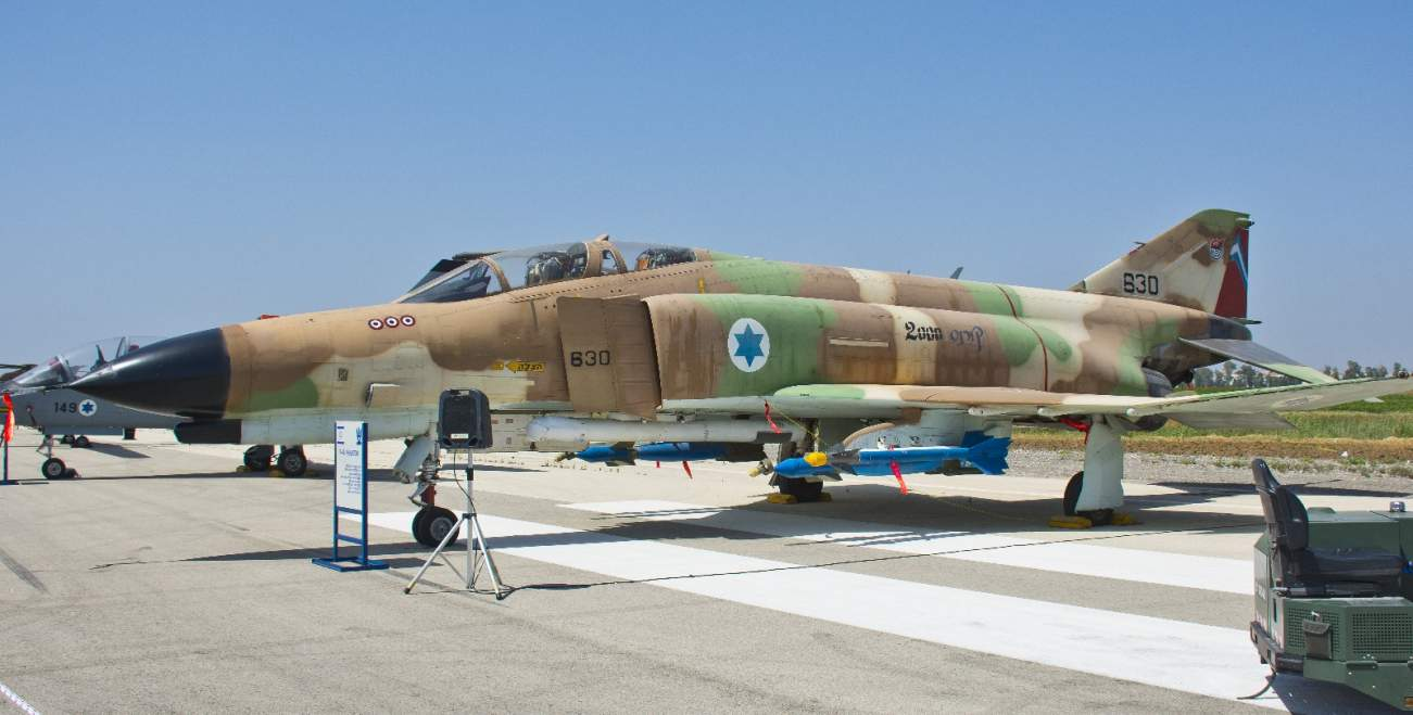 Why Israel's Promising 'Heavy Hammer' F-4 Super Phantom Never Made It