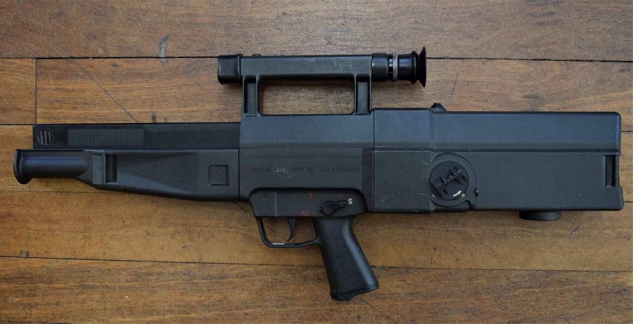 The Heckler and Koch G11 Assault Rifle Can Fire 2,100 Rounds Per Minute