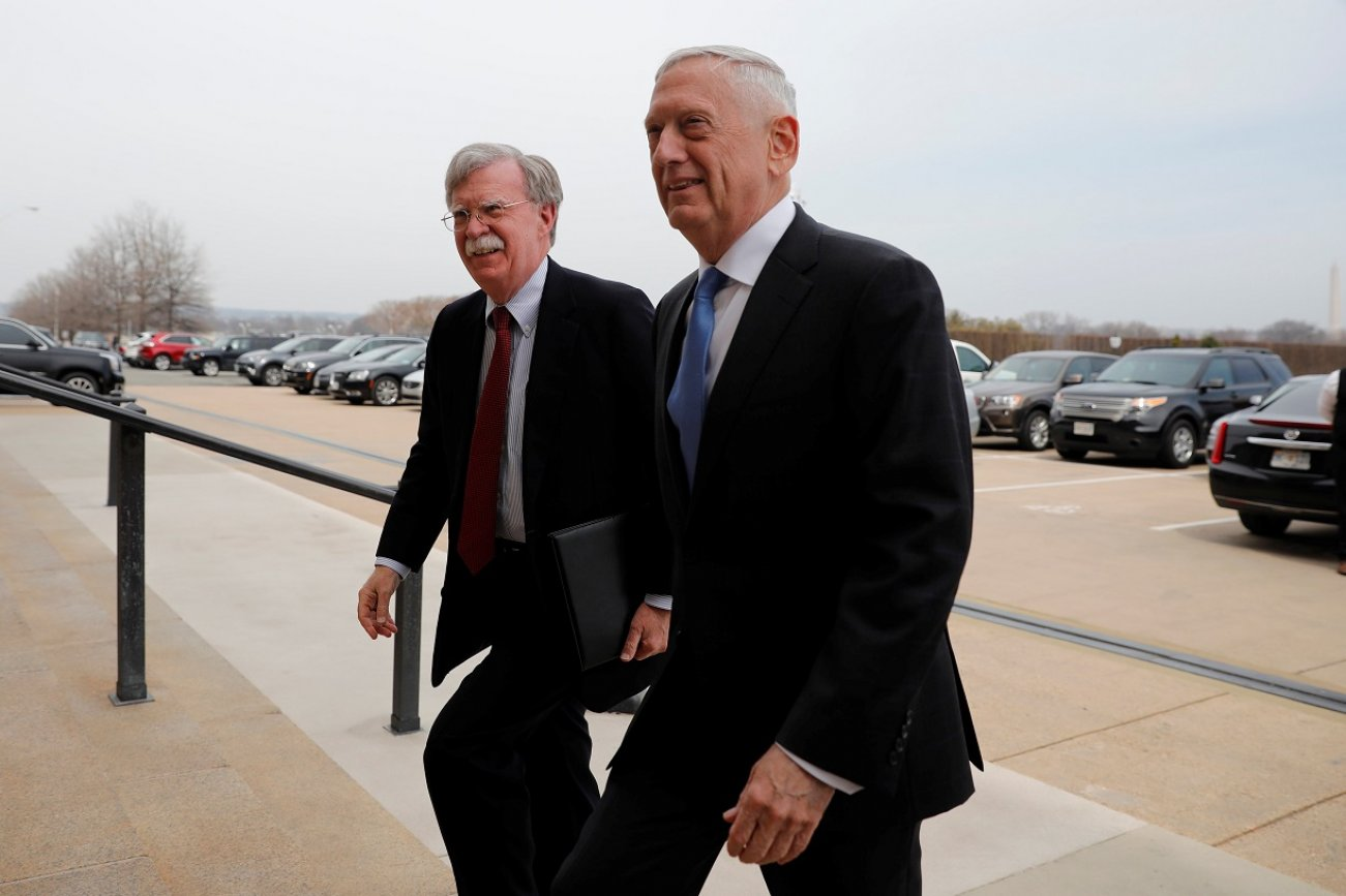 "Was General ""Mad Dog"" Mattis Soft on Iran? John Bolton Thinks So."