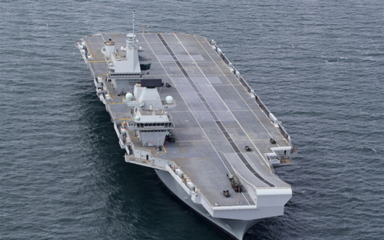 The Falklands War: The Only Time Modern Aircraft Carriers (Almost) Went to War