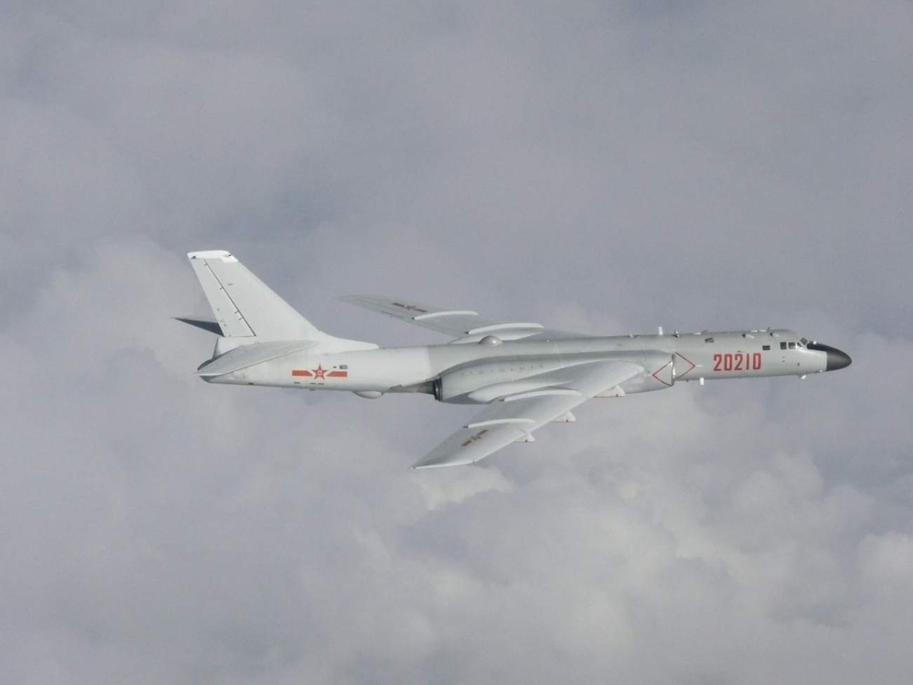 New Modifications to China's H-6 Bombers Make Them A Serious Threat to America's Navy