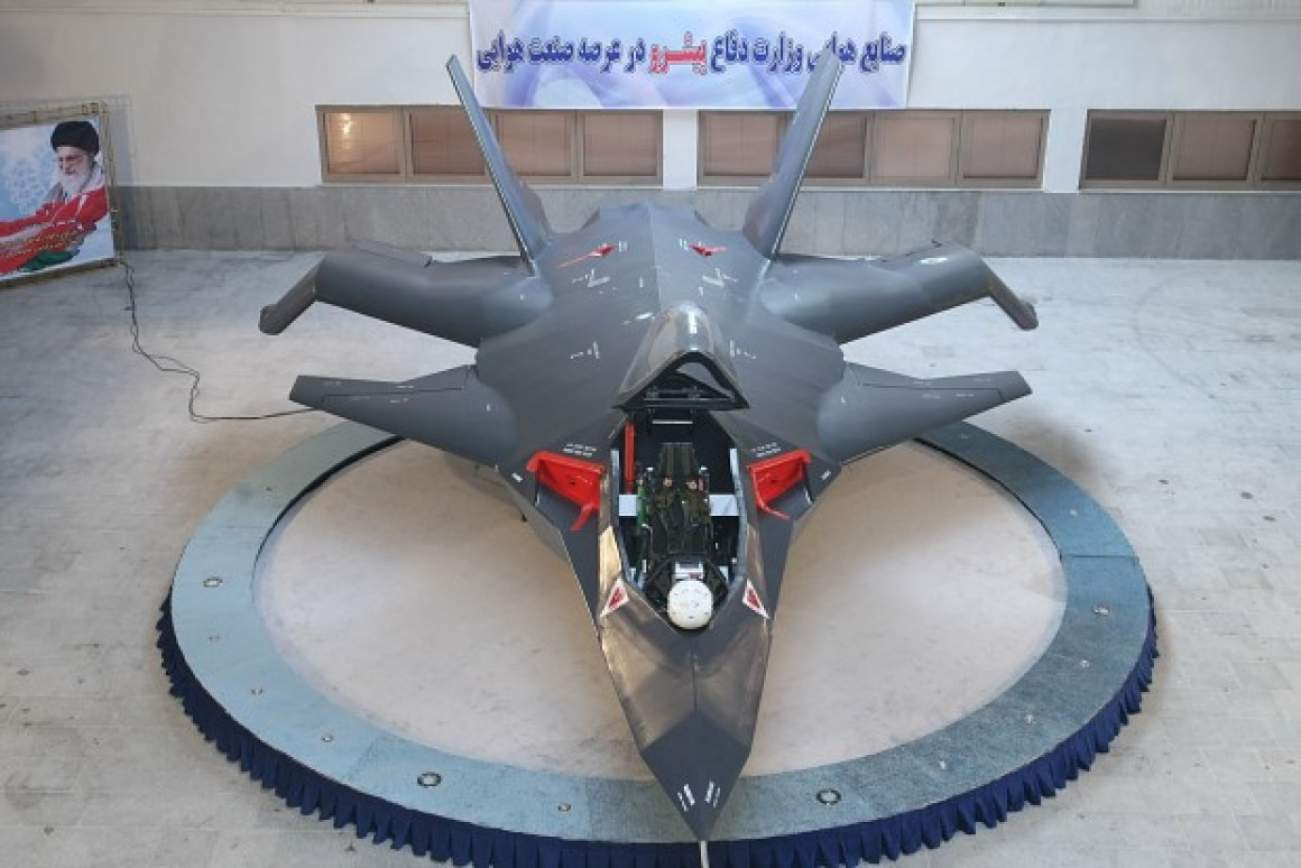 "Iran's Qaher 313 ""Stealth Fighter"" Is A Total Joke"