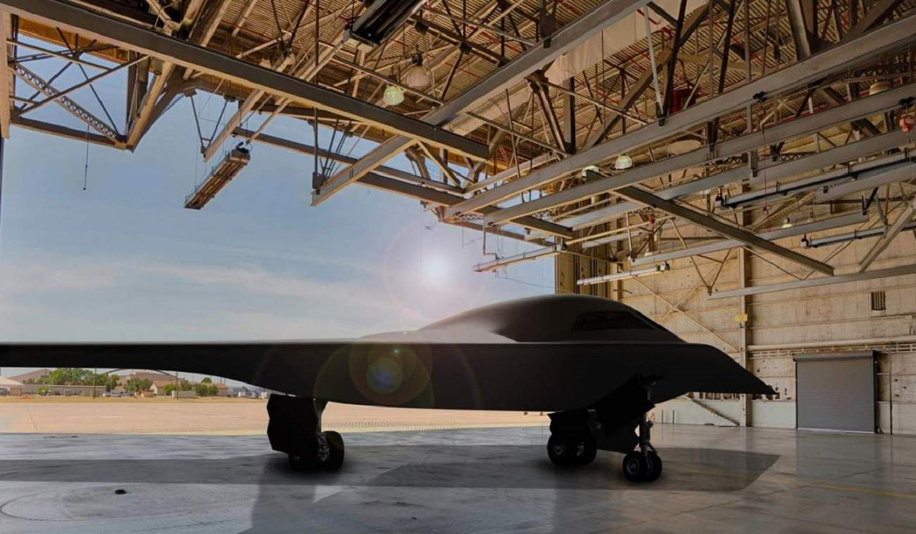Is the U.S. Air Force's New B-21 Raider Stealth Bomber Flying Over Area 51?